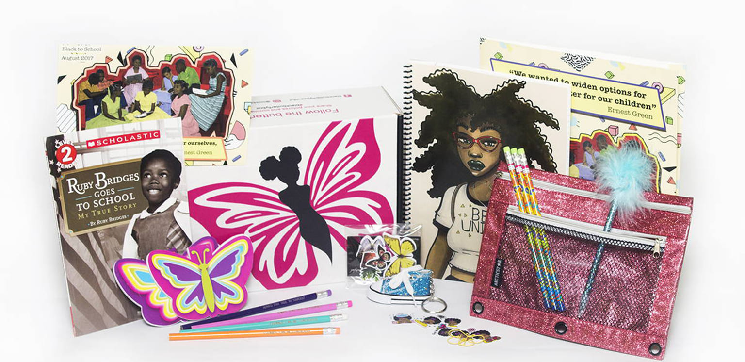 Black Butterfly Beautiful subscription box created to empower