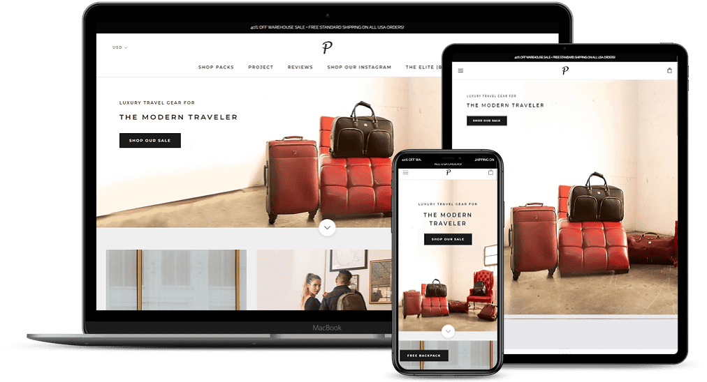 Packs Project Luxury Travel Gear For