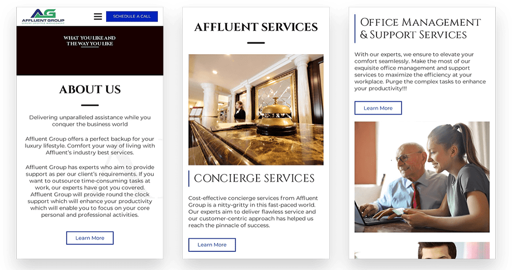 Affluent Group Office Management